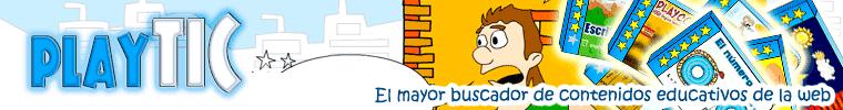PlayTIC El mayor buscador de recursos y juegos educativos de la web